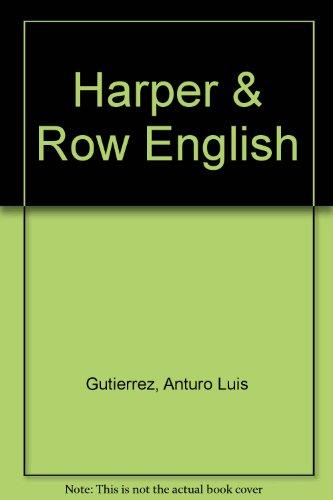 Harper & Row English PDF