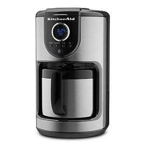 Kitchenaid Programmable Coffee Maker Manual : Amazon.com: KitchenAid 10-Cup Thermal Carafe Coffee Maker: Drip Coffeemakers: Kitchen & Dining