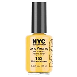 NYC Long Wearing Nail Enamel - Midtown Mimosa