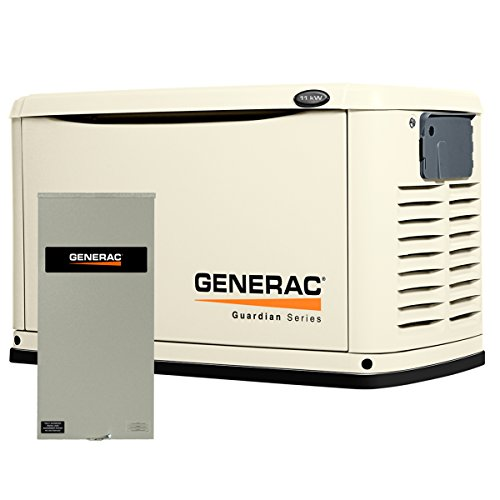 generac 6438 11kw automatic standby generator with 200a. Black Bedroom Furniture Sets. Home Design Ideas