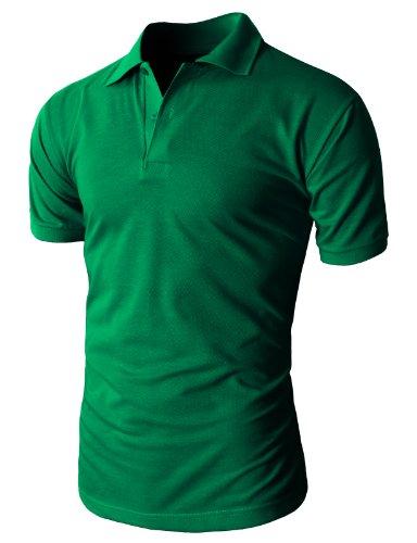 H2H Mens Casual Basic Pique Polo Shirts Short Sleeve of Vari