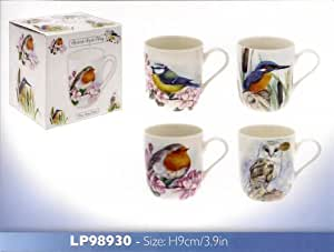 Amazon Com British Birds Owl Fine Bone China York Mug
