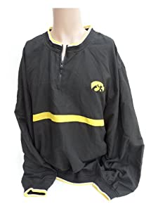 NCAA Iowa Hawkeyes Wind Jacket by Donegal Bay