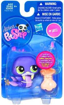 Buy Low Price Hasbro Littlest Pet Shop Get The Pets Single Figure Walrus Special Edition Pet (B00400VWQ2)