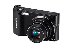 Samsung WB150F Long Zoom Smart Camera - Black (ECWB150FBPBUS)