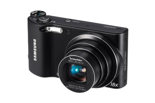 Samsung WB150F Long Zoom Smart Camera - Black (ECWB150FBPBUS) (Discontinued by Manufacturer)
