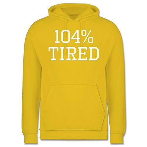 statement-shirts-104-tired-xs-gelb-jh001-manner-premium-kapuzenpullover-hoodie