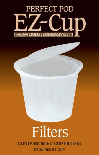 EZ-Cup Filter Papers by Perfect Pod (50 Filters)