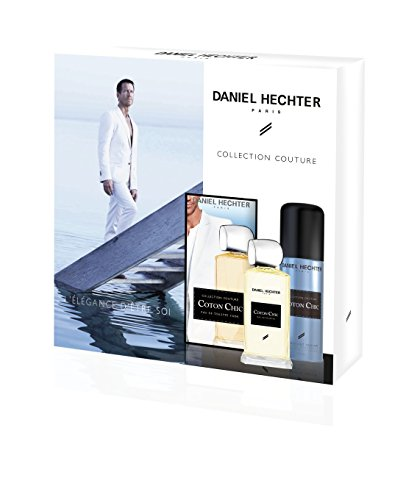 DANIEL-HECHTER-Coffret-Homme-Coton-Chic-Collection-Couture-Eau-De-Toilette-100-ml-Dodorant-150-ml