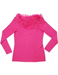 Plumes  Fabulous Pullovers Collar Large