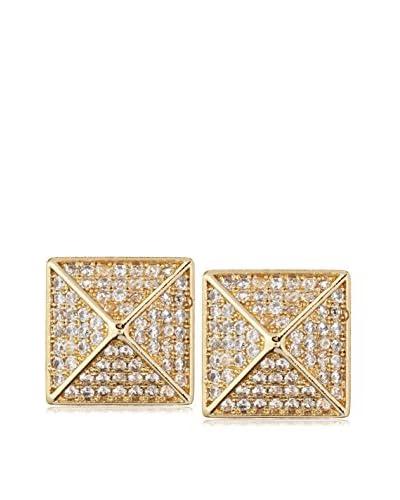 Chloe + Theodora Pyramid Stud Earrings