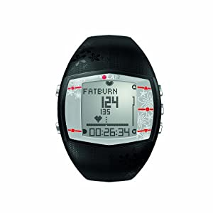 Polar FT40 Heart Rate Monitor Watch (Black)