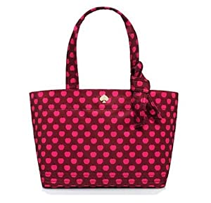 Kate Spade York Flatiron Sophia Grace Baby Diaper Bag, Red Apple from Kate Spade New York