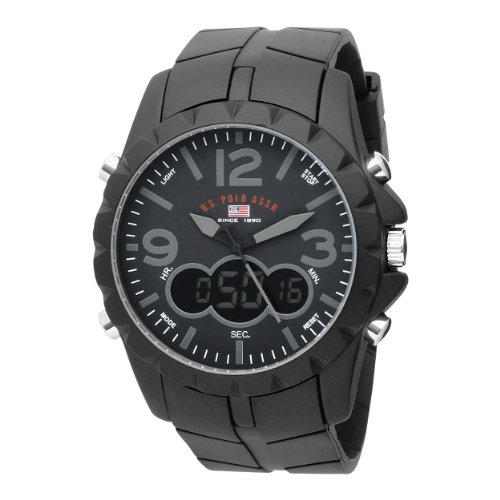 U.S. Polo Assn. Men's US9058 Analog-Digital Black
