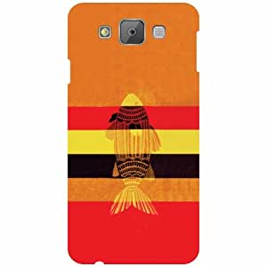 Samsung Galaxy E7 Printed Mobile Back Cover