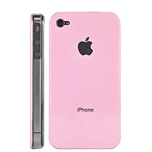 iPhone 4G, 4Gs Pink Hard Case buy one get one FREE