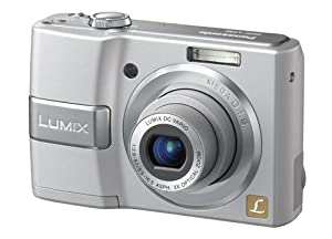 Panasonic DMC-LS80S 8MP Digital Camera with 3x Optical Image Stabilized Zoom (Silver)