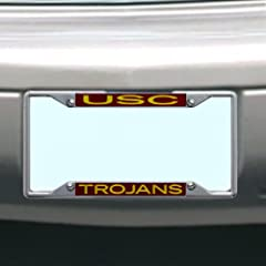 Buy NCAA USC Trojans License Plate Frame by Stockdale
