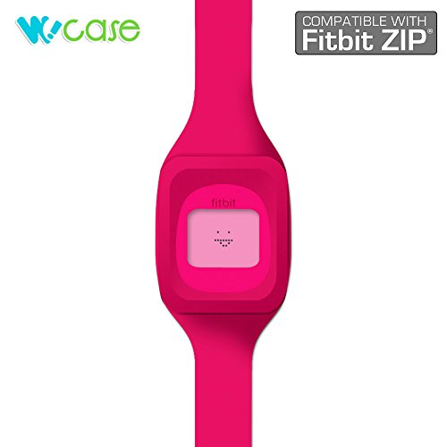 WoCase ZipBand Fitbit Zip Accessory Wristband Bracelet Collection (2015 Lastest Version, Bundled or Single Band) and Rainbow Pack Fasteners(SOLD SEPARATELY)...