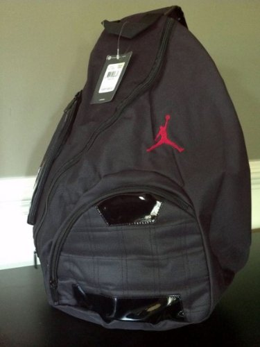 Nike Jordan Jumpman Sling Backpack Plus a Free Gift Cellphone Anti dust  Plug by Nike 9249b927e8