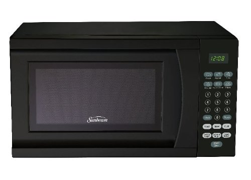 Find Cheap Sunbeam SGS90701B 0.7-Cubic Feet Microwave Oven, Black