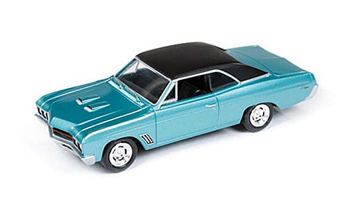Buick Gran sport,, dark turquois / matt black, 1967, Model Car, Ready-made, car World 1:64 - 1
