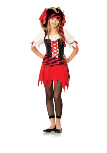 3 Piece Junior Miss Pirate Lass Costume