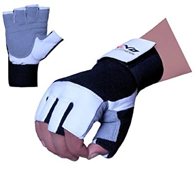 Evo Weightlifting Gloves, Gym Straps Wrist Support Cycling Wheelchair Glove by EVO Fitness