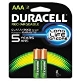 Duracell Rechargeables StayCharged AAA Batteries, 4-Count ~ Duracell