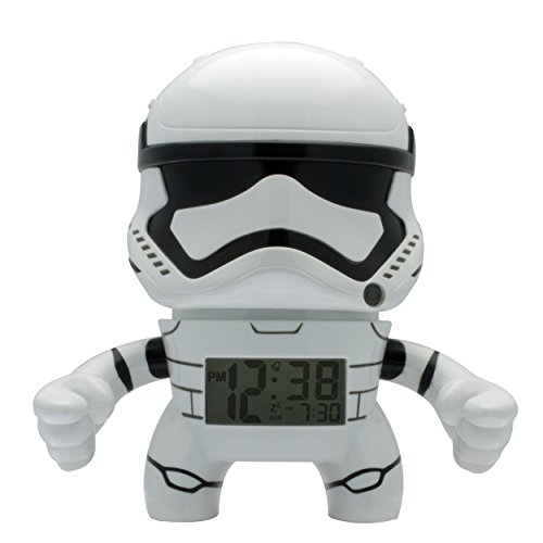 Star Wars Storm Trooper bulbbotz, Mini Despertador, 9 cm 2020190