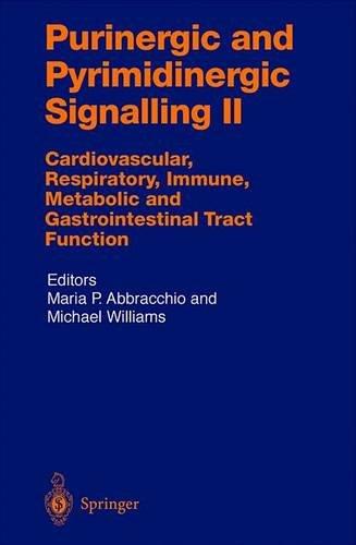 Purinergic and Pyrimidinergic Signalling II: Cardiovascular, Respiratory, Immune, Metabolic and Gastrointestinal Tract F
