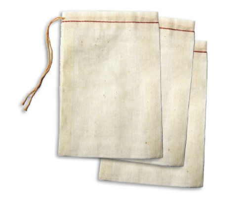 "For Sale! Cotton Drawstring Muslin Bags (4"" X 6"" - Pack of 25)"