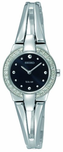 Seiko Ladies Solar Powered Bracelet Watch SUP051P1