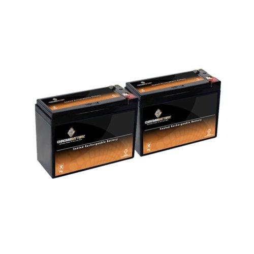 12V 10Ah Sealed Lead Acid (Sla) Battery - T2 Terminals - For Zb-12-10 - 2Pk
