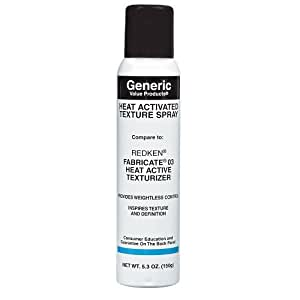 Generic Value Products Heat Activated Texture Spray compare to Redken Fabricate 03 Heat Texturizer