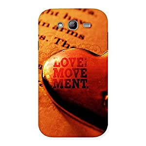 Special Love Movement Back Case Cover for Galaxy Grand Neo Plus