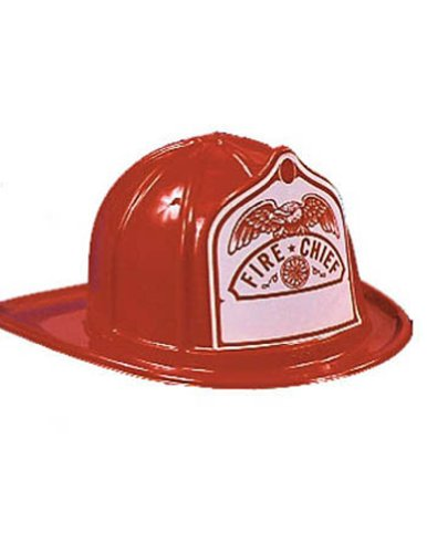 Halloween Costumes Item - Fire Chief Hat Adult