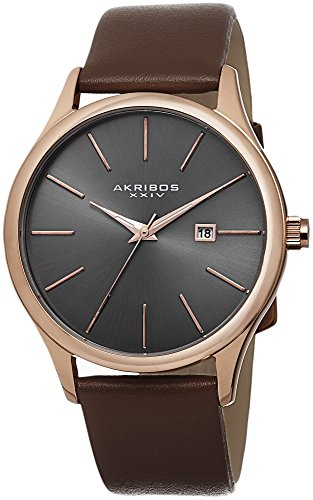 Akribos-XXIV-Mens-AK618RG-Essential-Dress-Watch