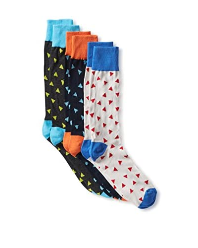 English Laundry Men's Triangles Socks - 3 Pack
