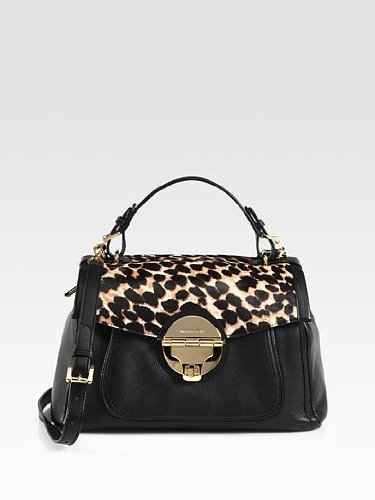 Michael Michael Kors Large Calf Hair & Leather Satchel