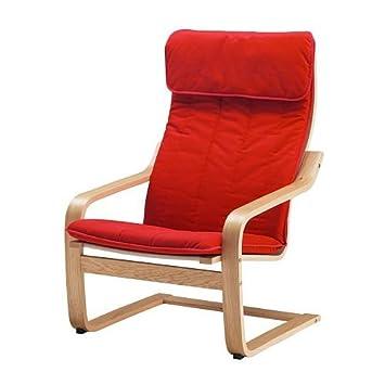 7 ikea poang fauteuil placage placage ch ne alme rouge moyen cuisine maison m122. Black Bedroom Furniture Sets. Home Design Ideas