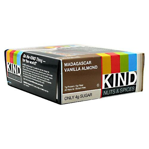 Kind Snacks Nuts & Spices Madagascar Vanilla Almond 12 ea (Pack of 6)