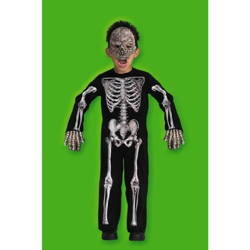 Scary Skeleton Costume: Toddler's Size 2T