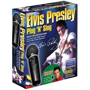Emerson Plug 'N' Sing Karaoke System With Elvis Holiday Songs