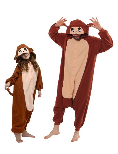 Monkey Kigurumi (All Ages Costume)