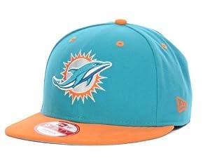 NFL Miami Dolphins Baycik 9Fifty Snapback Hat by NFL Maimi Dolphins