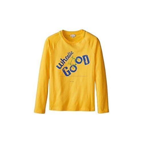 "Paul Smith ポールスミス Paul Smith Long Sleeve T-Shirt w/ ""Wheelie Good"" Inscription (Toddler/Little Kid/Big Kid) Mens シャツ トップス T? Banana ブラック 【並行輸入品】"