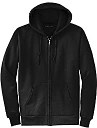 Joe\'s USA(tm) Full Zipper Hoodies - Hooded Sweatshirts Size XL, Black
