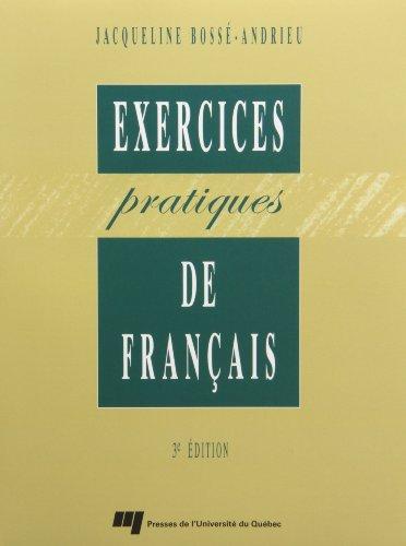 Exercices pratiques de français