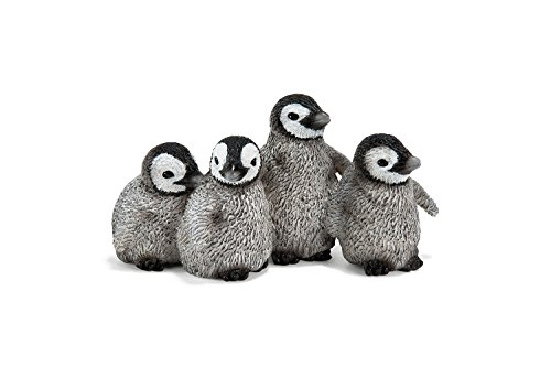 Schleich Emperor Penguin Chicks Toy Figure - 1